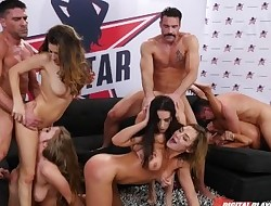 Digital Playground- Double penetration Star Season 3 Scene 6, Final top 5 Orgy