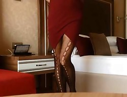 Arabic Secretary Spy in Hotel