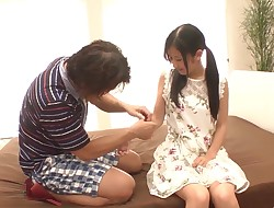 Suzu Ichinose desire sex with an old man