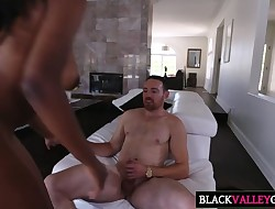 Pretty Dark Teen Daya Knight Gets Boinked